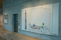 Ausstellung Norwegischer Künstler*innen im Felleshus der Nordischen Botschaften 2020